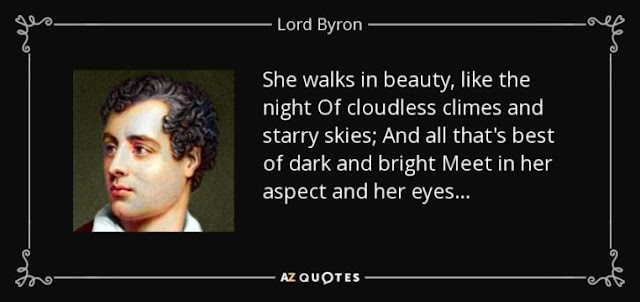 Poet- Lord George Gordon Byron-नी प्रेमकविताओ अने व्यभिचार