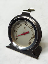 Oven thermometer is a polymer clay artist's best friend
