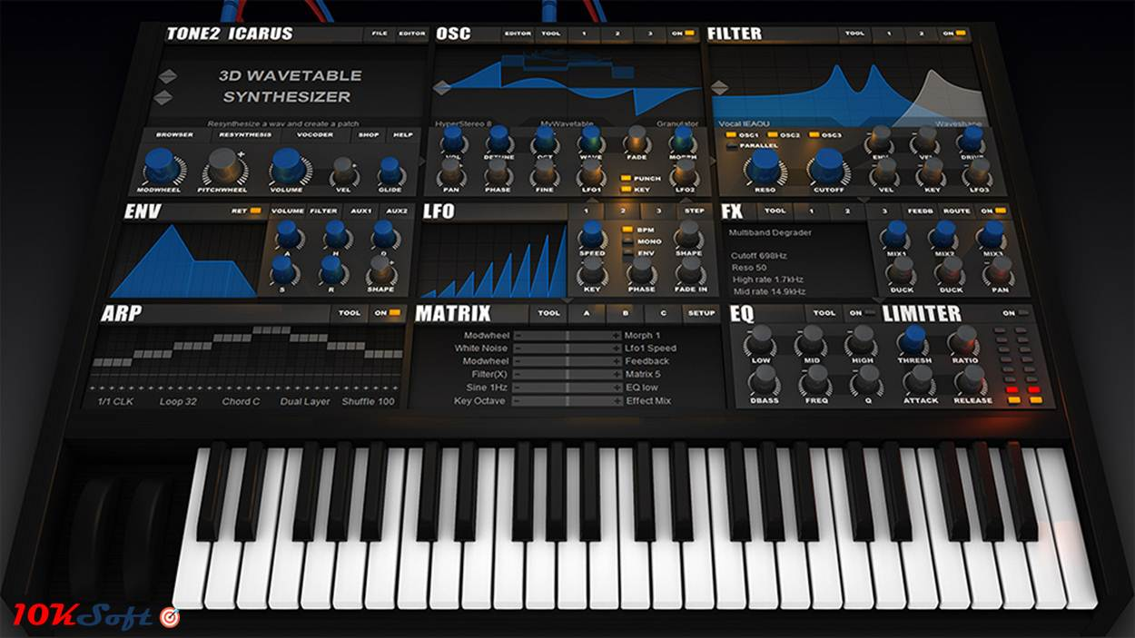 Download Tone2 Icarus DMG for Mac Offline Installer Free
