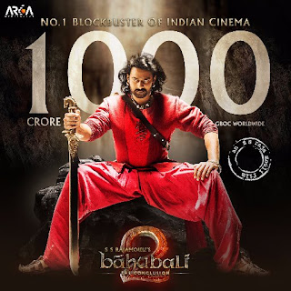 Baahubali 2 the conclusion 1000 crores Indian Movie