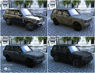Car Ranger Iray Addon
