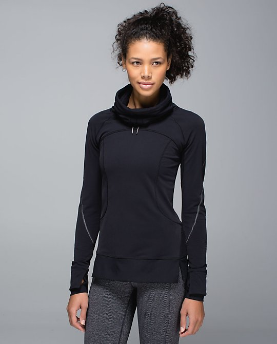 lululemon flurry fighter pullover black