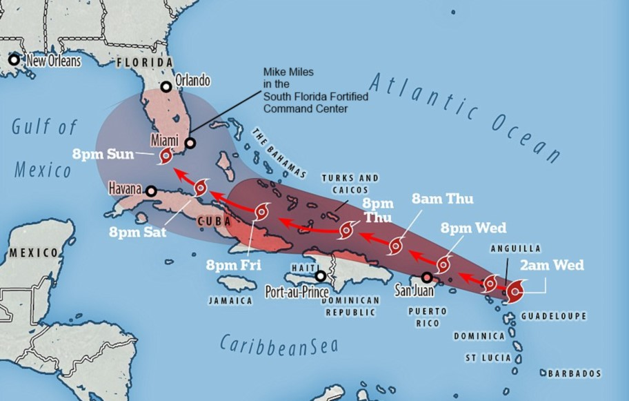 90 Miles From Tyranny As Hurricane Irma Approaches I