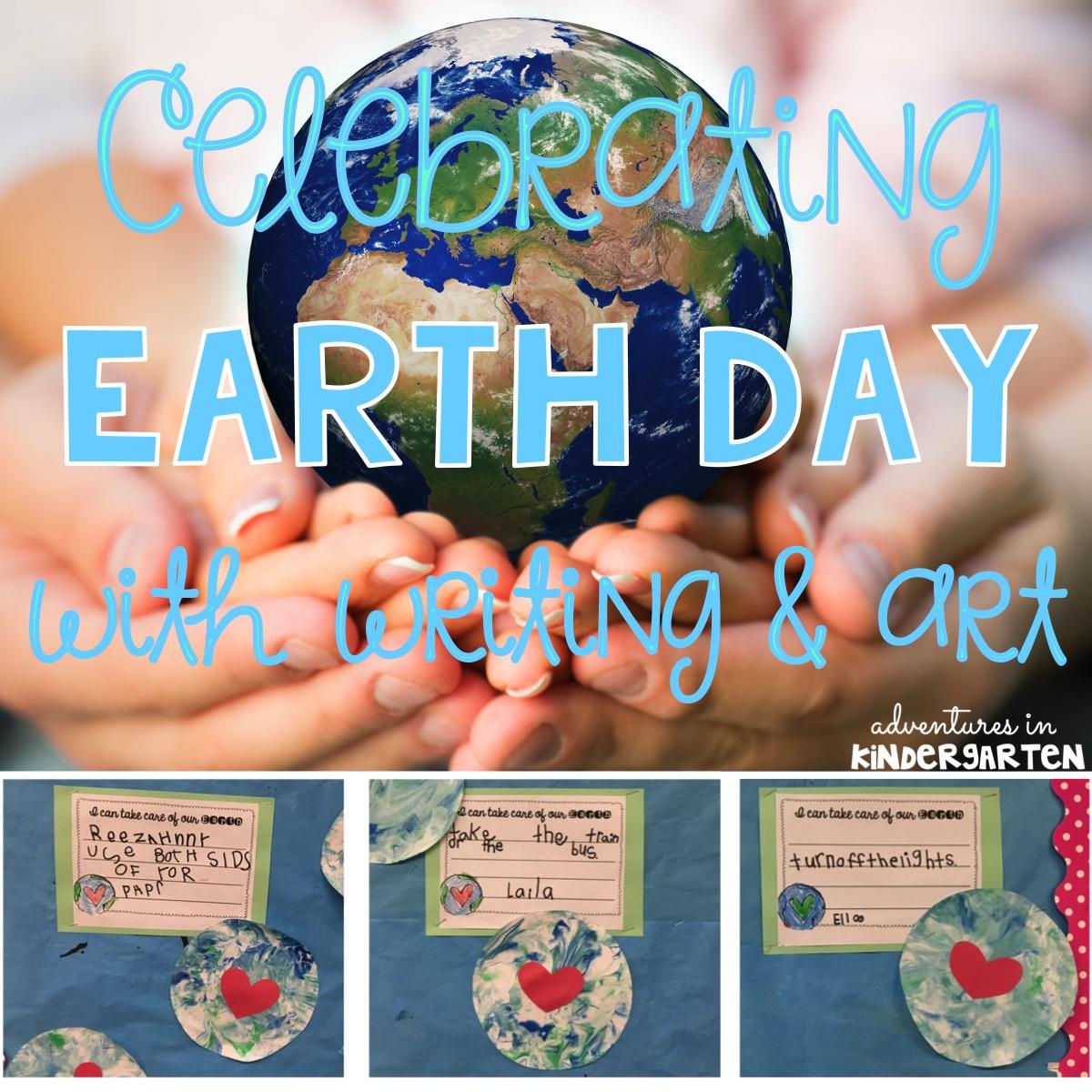 Adventures In Kindergarten Earth Day