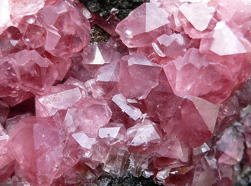 Cristal Rose quartz bruto