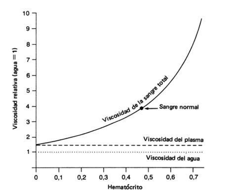 ¿Cómo el ejercicio reduce la viscosidad de la sangre?