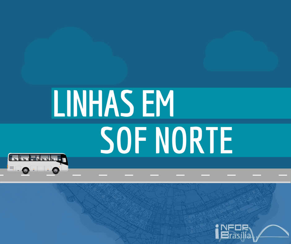 Horário de ônibus das linhas do SOF Norte do Distrito Federal