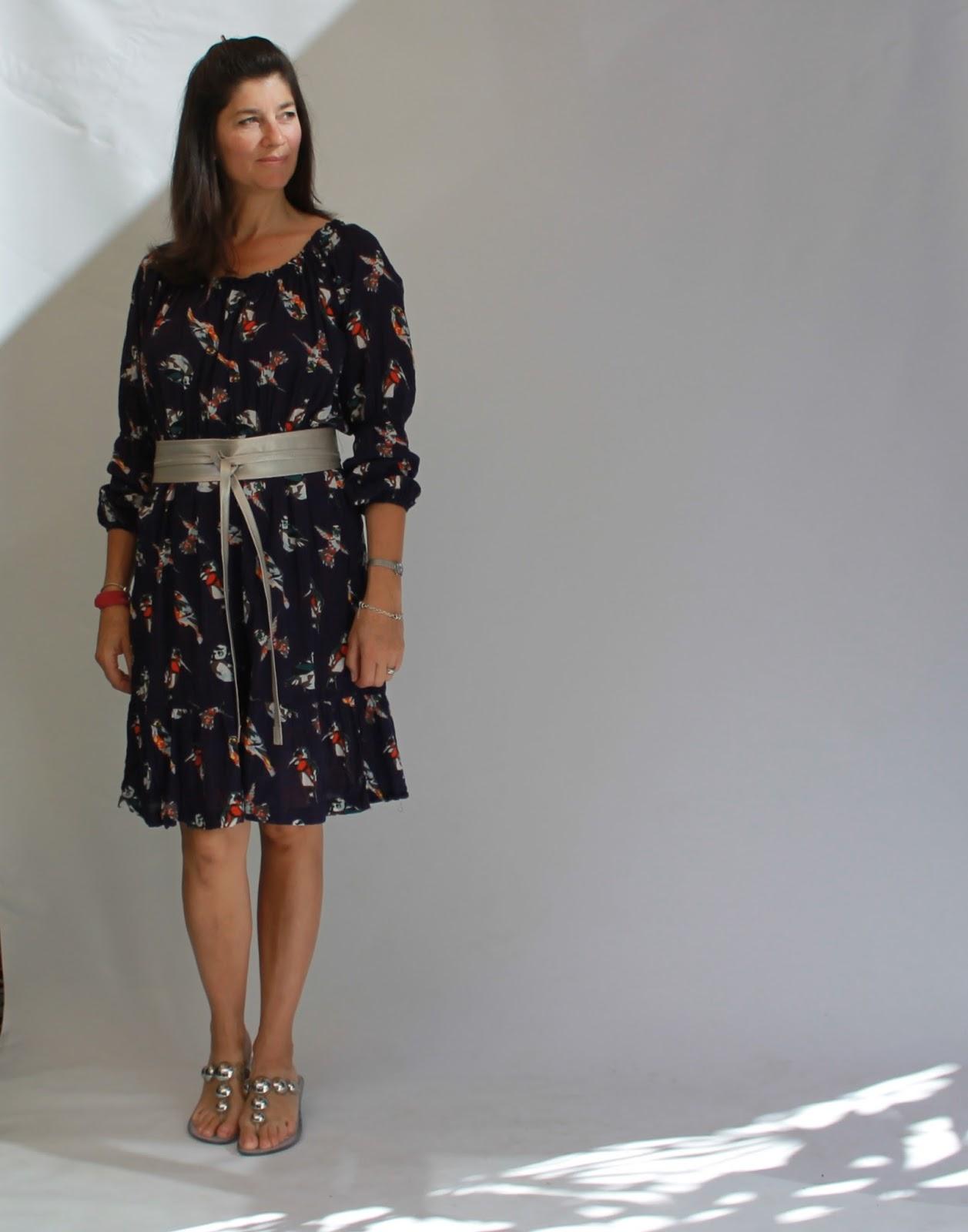 5842f540d2b meggipeg: Marie Gathered Midi Dress - Named Royals Collection