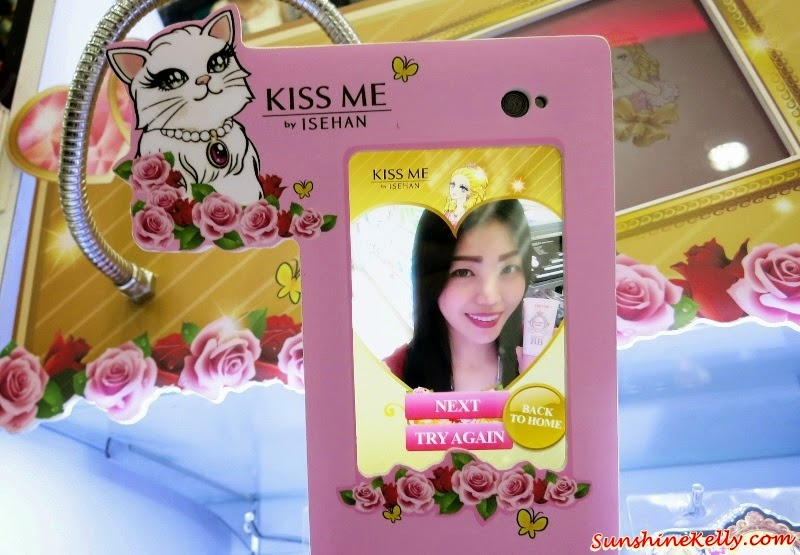 KISS ME Selfie, Kiss Me Selfie Contest, KISS ME Selfie Station, KISS ME Selfie Fixation Contest, KISS ME Heroine Make Lasting Mineral BB Cream,