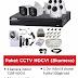 Paket CCTV HDCVI (8 Kamera 720P HDCVI)