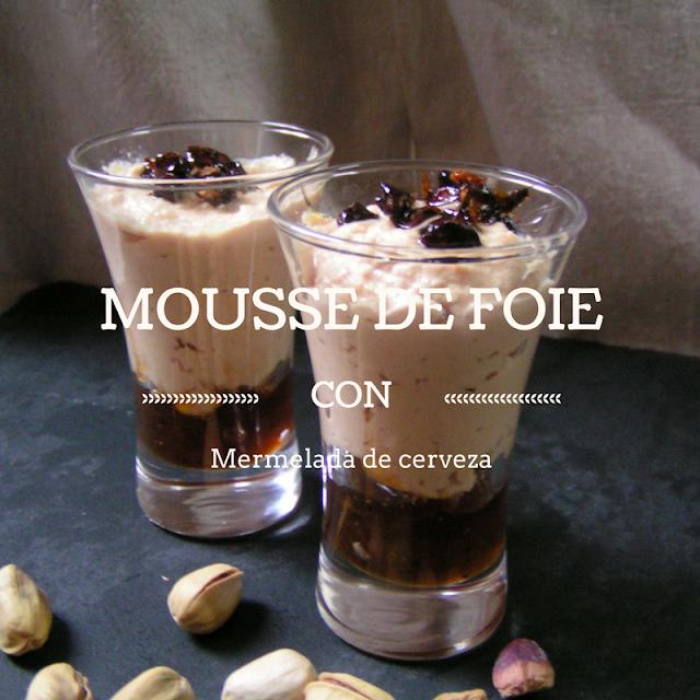 Mousse de foie con mermelada de cerveza - Morrico Fino