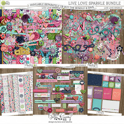 Live Love Sparkle Bundle at the Lilypad