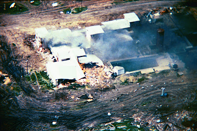 Branch Davidian Siege in Waco, Texas