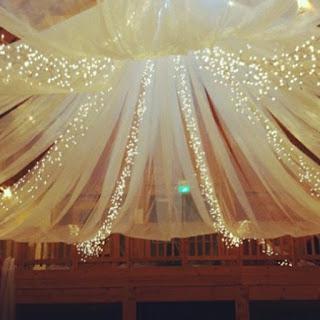 Iluminación con guías de luces para bodas