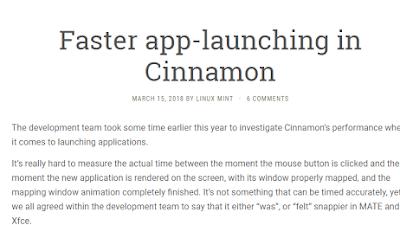 L'avvio delle applicazioni sarà più rapido su Cinnamon 3.8, parola di Clem!