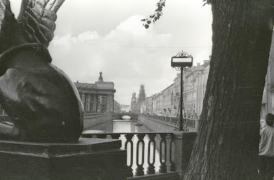 Saint-Pétersbourg, Leningrad, canal Griboyedova, © L. Gigout, 1990