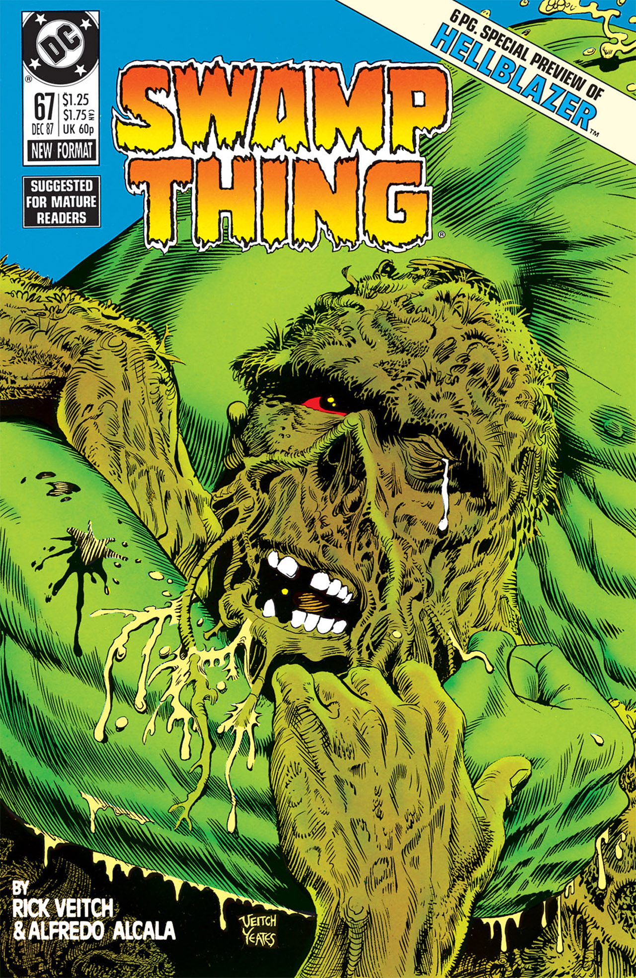 Swamp Thing (1982) Issue #67 #75 - English 1