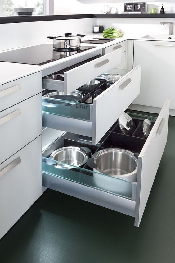 Dicas pra transformar a sua cozinha na cozinha dos seus sonhos.