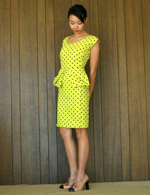Refashioned Peplum Dress: Friday Feature