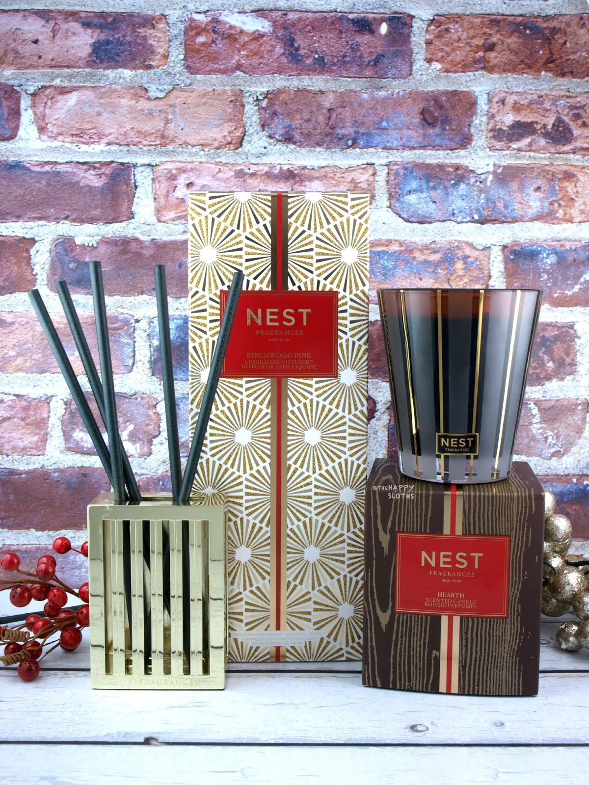 NEST Fragrances Birchwood Pine Liquidless Diffuser & Hearth Candle: Review