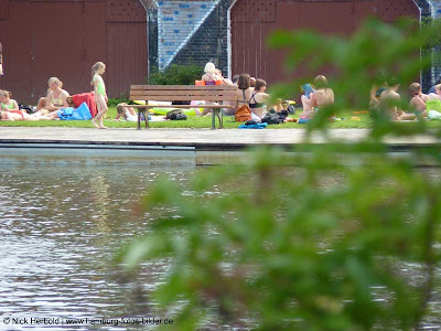 Hamburg baden im Freibad