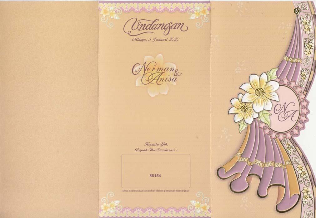 Undangan Pernikahan Erba 88154 | Tabloid Laptop