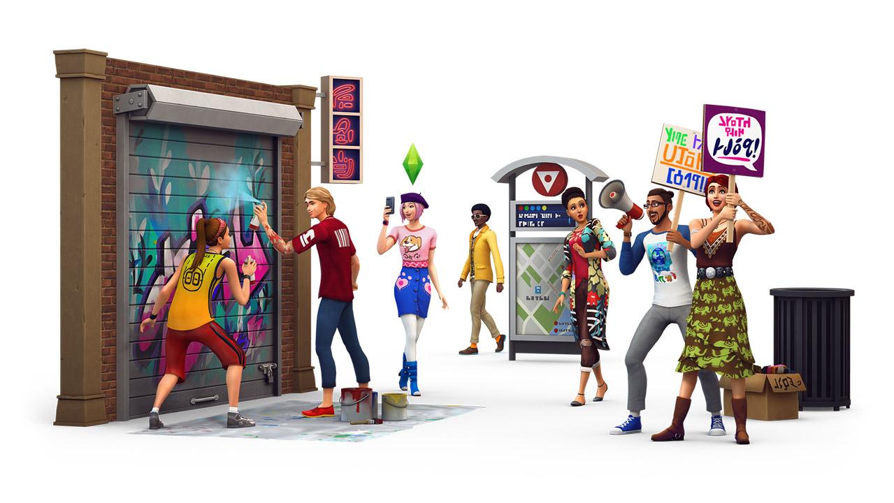The Sims 4 City Living ภาคเสริมใหม่ The Sims 4