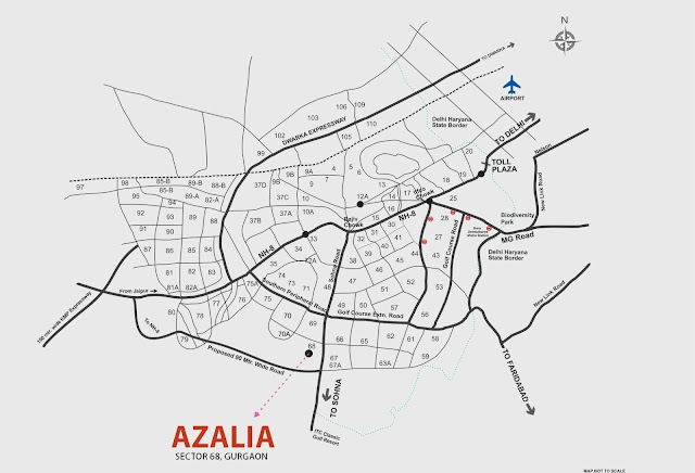 Supertech Azalia Location Map