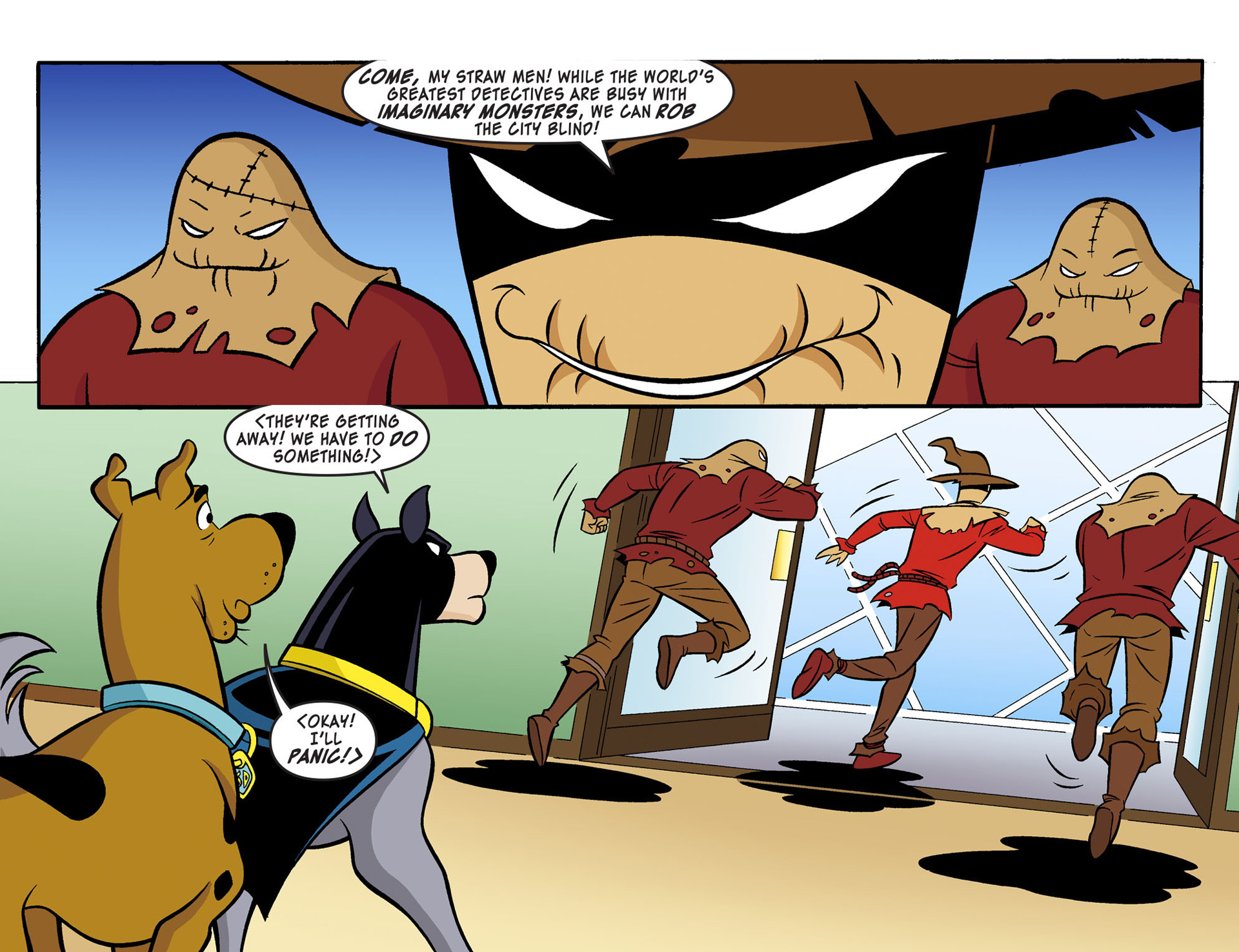 Read online Scooby-Doo! Team-Up comic -  Issue #3 - 17