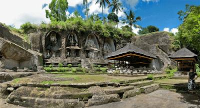 Obyek Wisata Gunung Kawi Bali