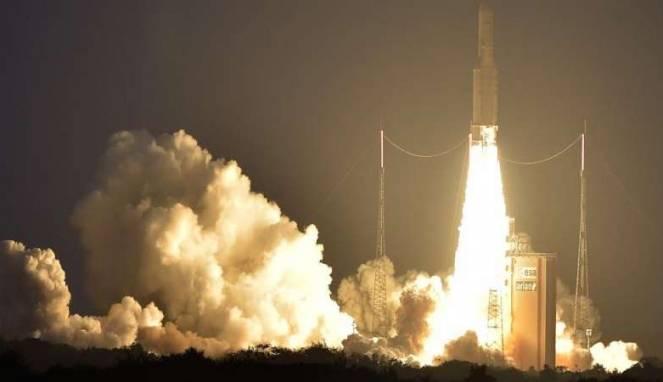 Peluncuran Satelit Telkom 3S Sukses