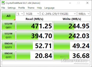 Kecepatan SSD V-Gen