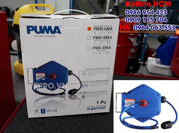 Phân phối cuộn dây hơi tự rút chính hãng PUMA PM10-6MA trên toàn quốc