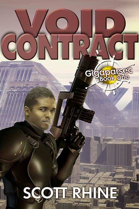 book cover for Void Contract