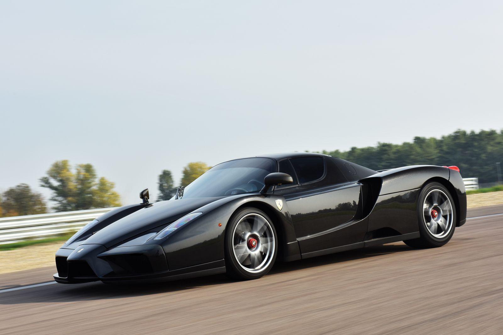 Rebuilt Black Ferrari Enzo Sells For 1 75 Million At Auction