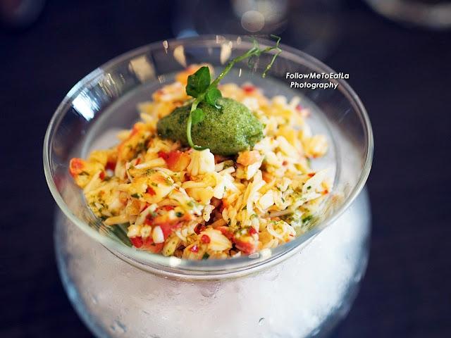 Charred Artichoke Frittata Cucumber Tomato Salsa, Watercress Pesto RM 30