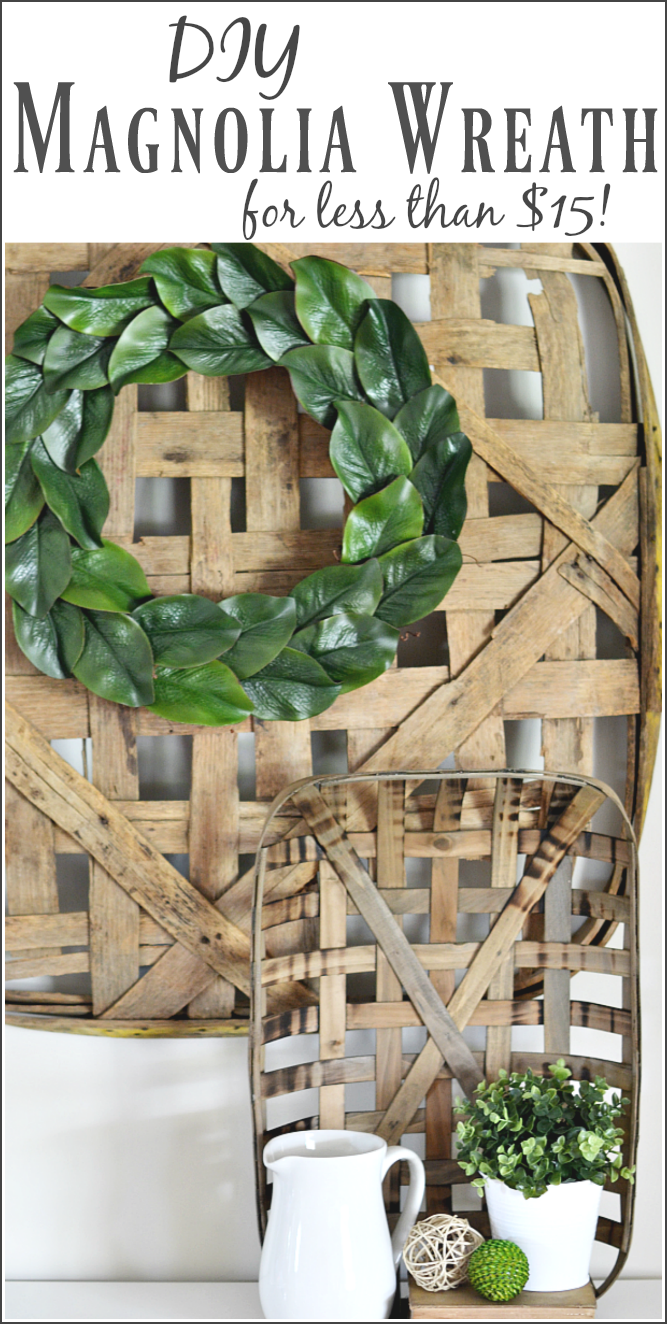 The Life Of Jennifer Dawn Diy Magnolia Wreath For Less Than 15