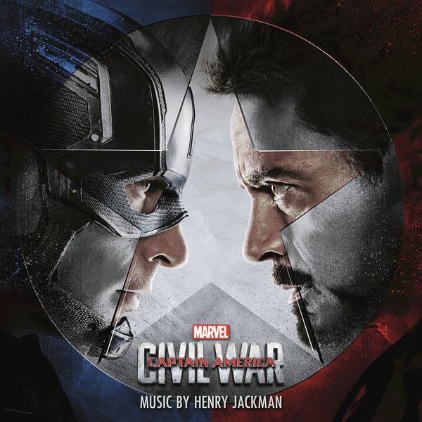 Henry Jackman - Captain America: Civil War (Original Motion Picture Soundtrack) Cover