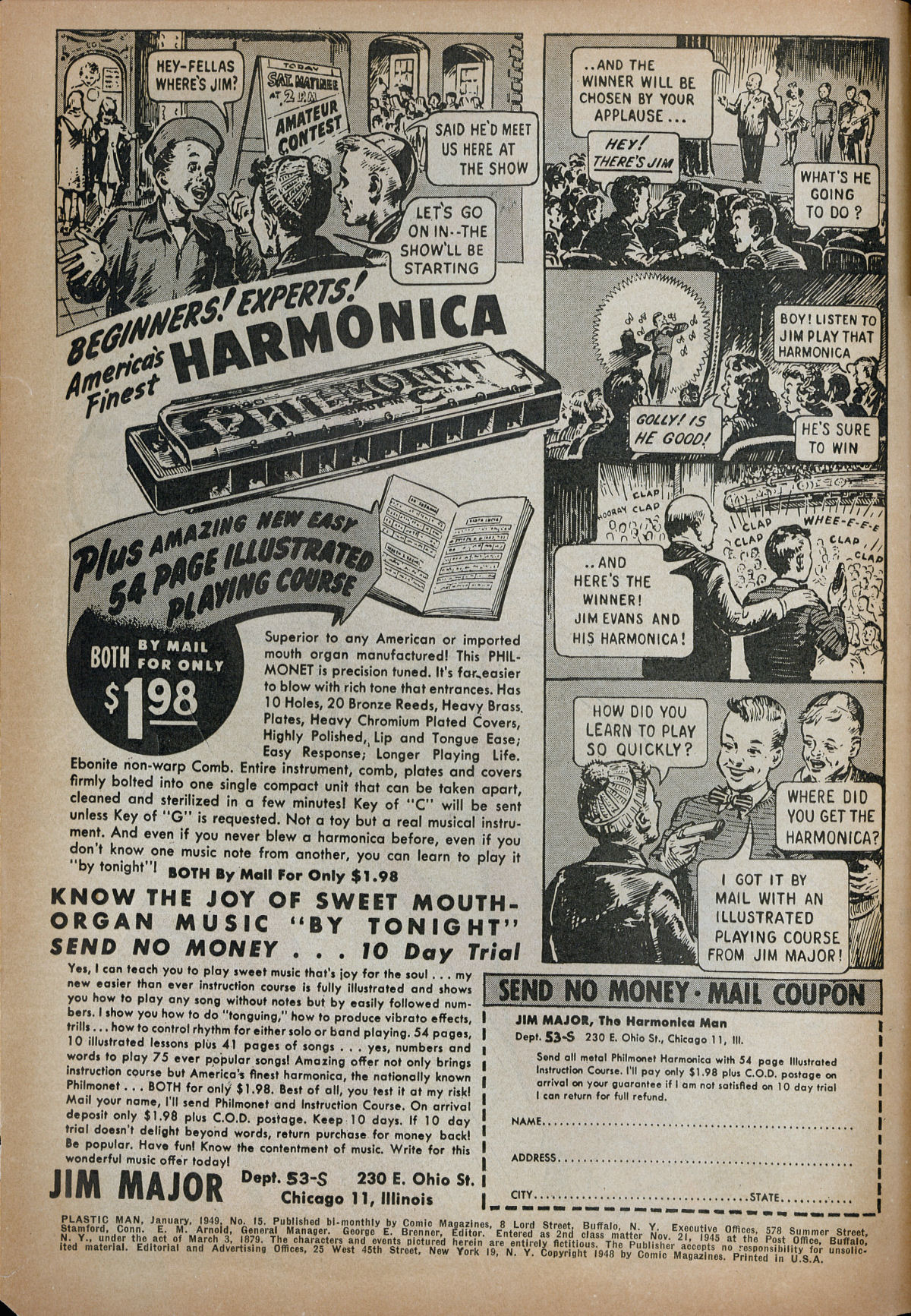 Plastic Man (1943) 15 Page 2