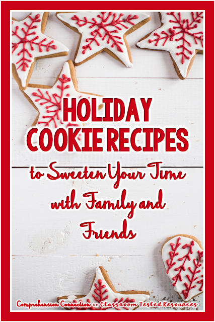 Looking for the perfect holiday cookie recipe to share with your friends and family? Look no further. You can choose from the collection we've put together for you AND get access to great holiday freebies for your classroom.