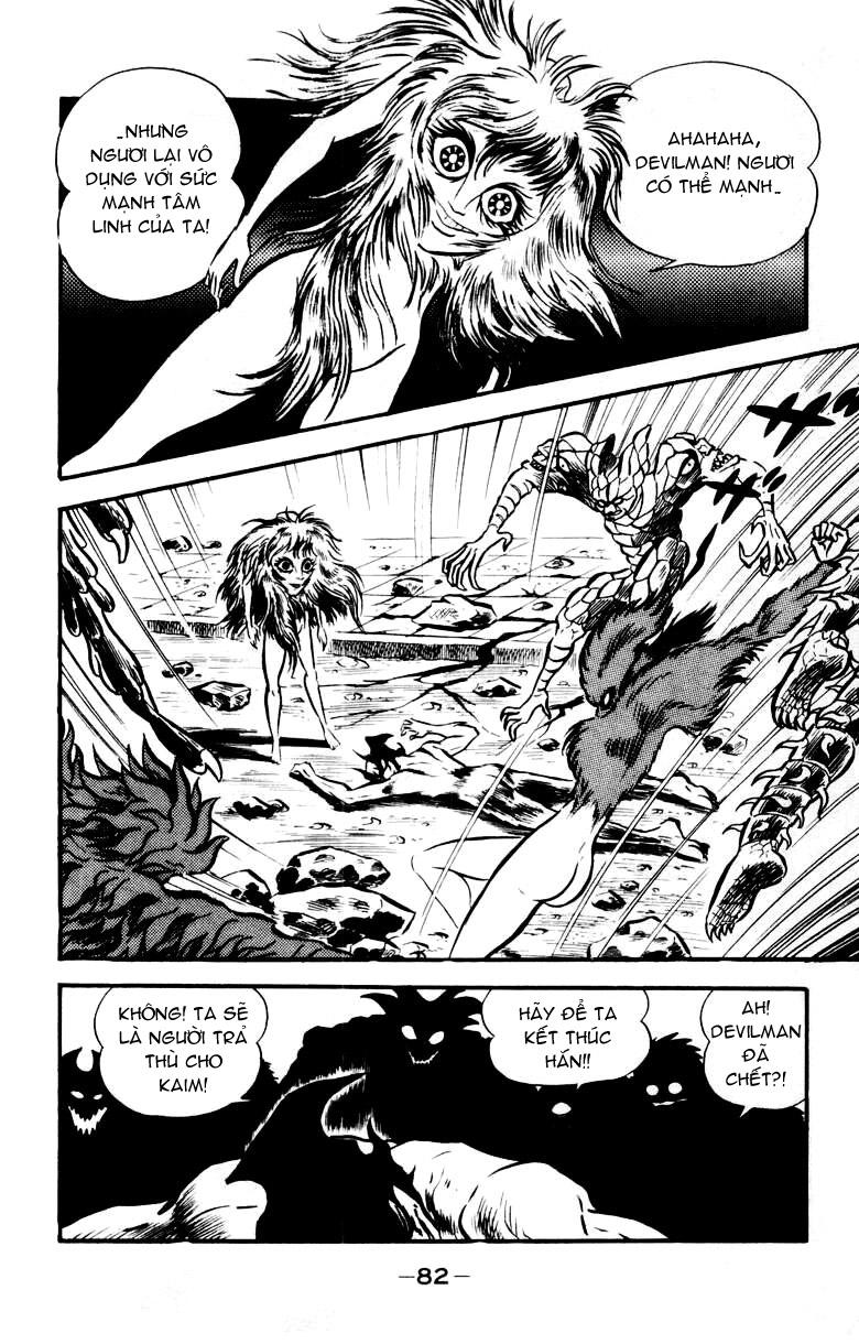 DevilMan chapter 18 trang 35