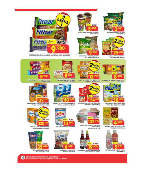 Katalog Super Hemat Super Indo Bandung, Sukabumi, Cirebon, Tegal dan Lampung 28 Februari sampai 4 Maret 2019