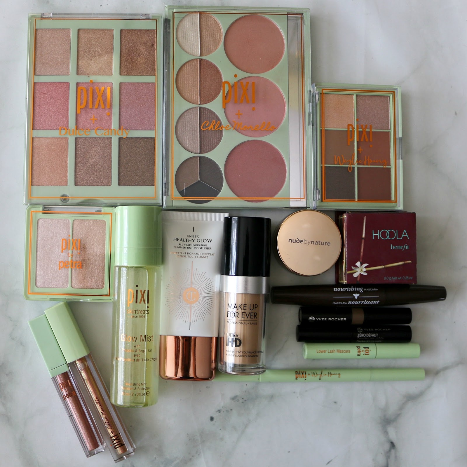 Healthy Glow Makeup Look Products