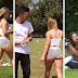 Caméra cachée : les réactions des gens lors du passage d'une fille aux formes généreuses