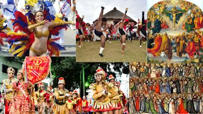 A origem do carnaval e seu desenvolvimento
