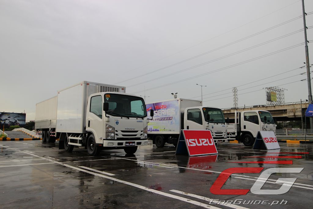 Blue) Powering the Future: A Closer Look at Isuzu's New Euro 4 Truck