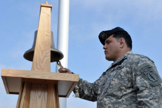 - Army Sgt. 1st Class Joe Serna Jr. serving in Afghanistan