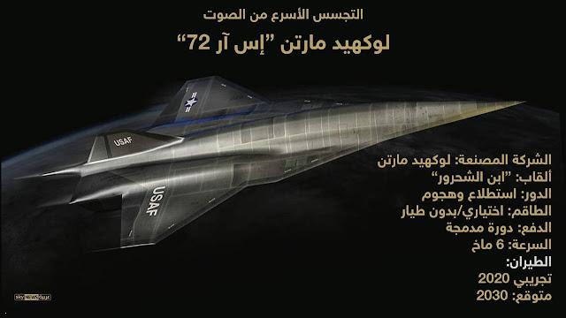 بيانات لطائرة لوكهيد اس ار 72