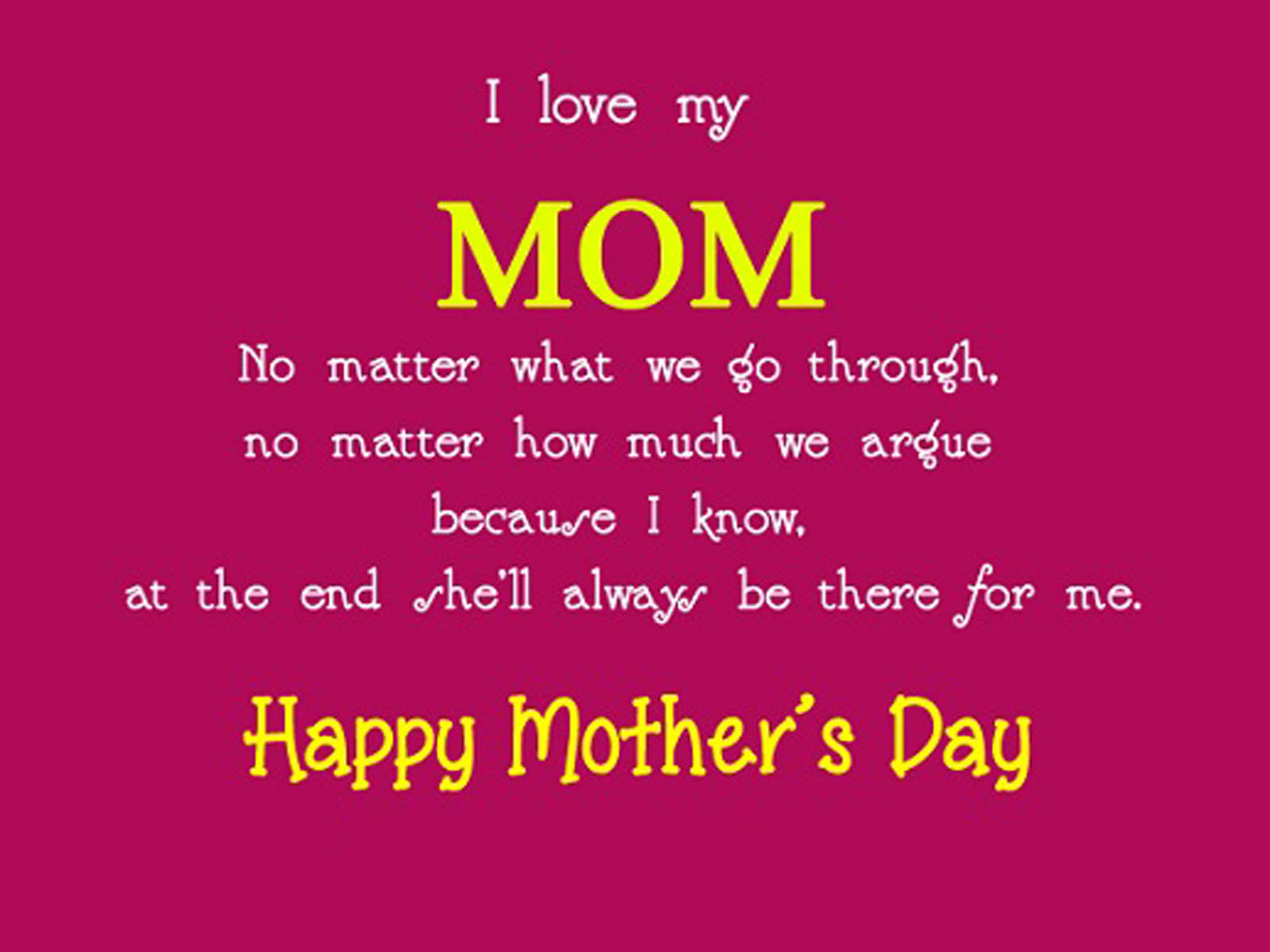 Hd Wallpapers Happy Mother S Day Quotes