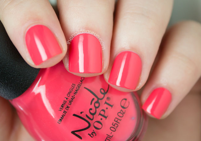 Nicole By Opi Seize The Summer Collection Swatches And Review The Nailasaurus Uk Nail Art Blog